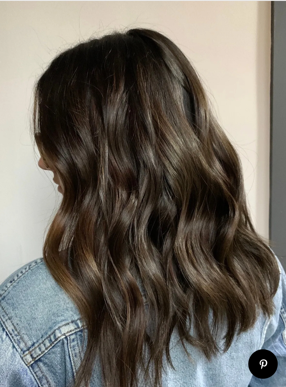 Nhuộm tóc balayage màu nâu lạnh