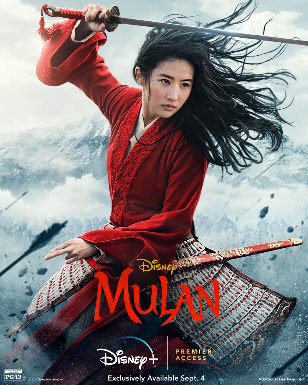 Phim mới của Lưu Diệc Phi: Hoa Mộc Lan