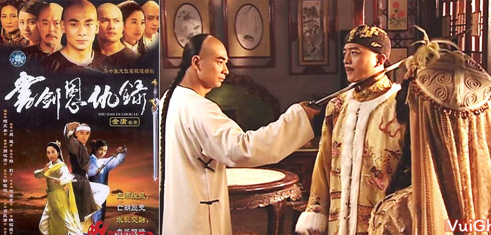 Phim kiếm hiệp Kim Dung hay nhất: Thư kiếm ân cừu lục