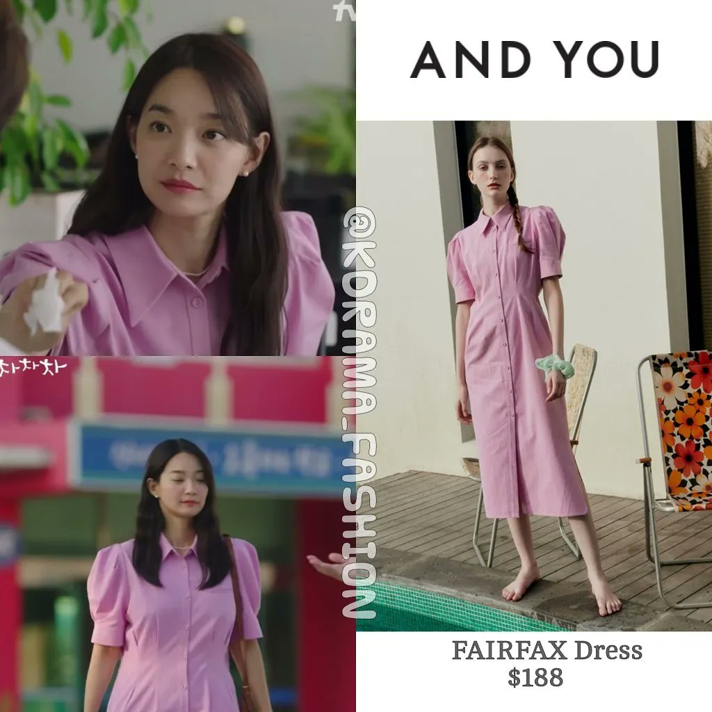 Thời trang Shin Min Ah trong phim Hometown Cha-Cha-Cha 4