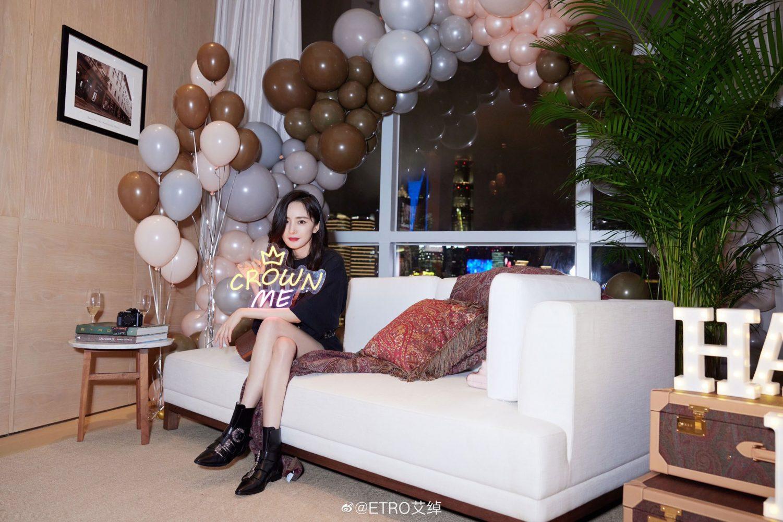 Dương Mịch đón sinh nhật tuổi 35 trong vai trò đại sứ toàn cầu của Etro 5