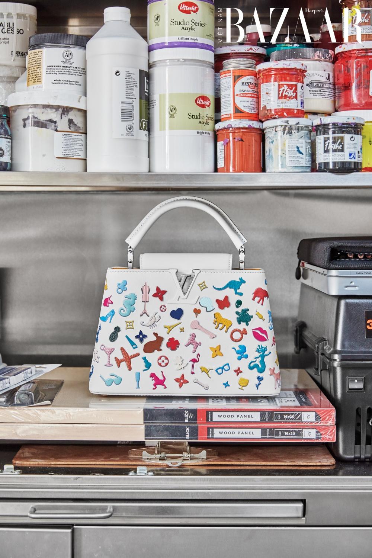 Louis Vuitton ra mắt 6 thiết kế Artycapucines nghệ thuật năm 2021 10