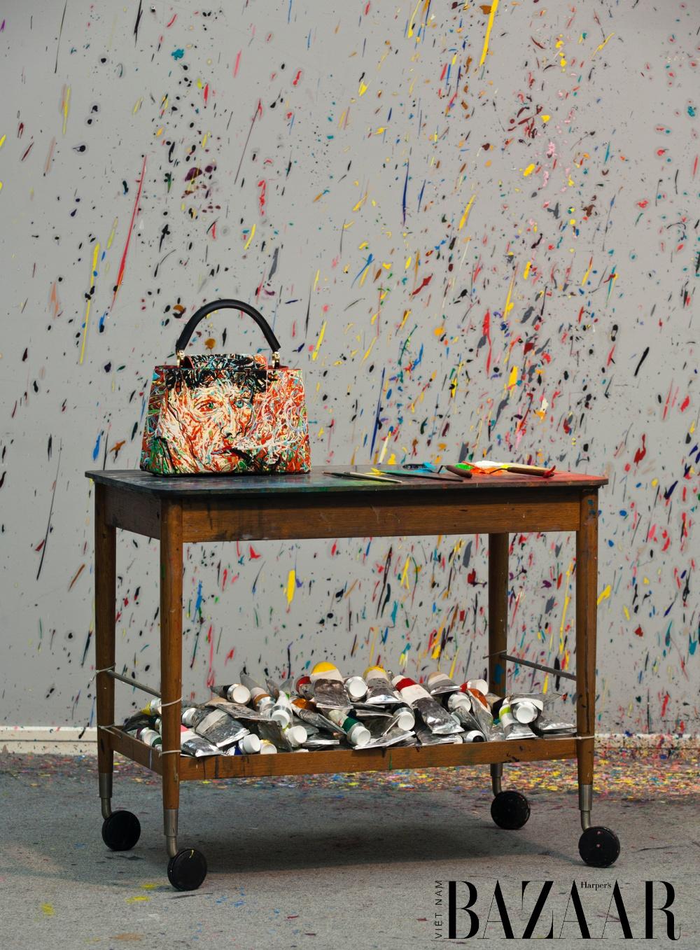 Louis Vuitton ra mắt 6 thiết kế Artycapucines nghệ thuật năm 2021 7