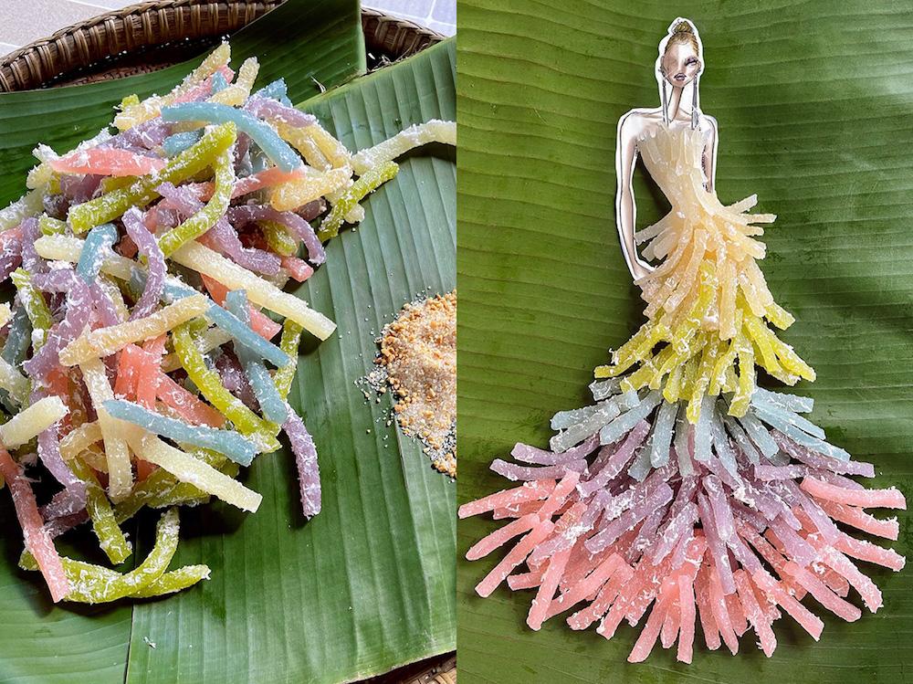 BST thời trang từ thực phẩm độc đáo của Nguyễn Minh Công
