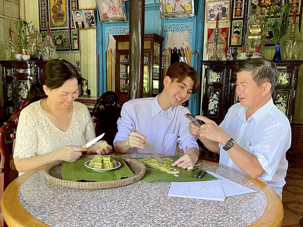 Nguyễn Minh Công biến 7 loại bánh Nam Bộ thành đầm công chúa 11