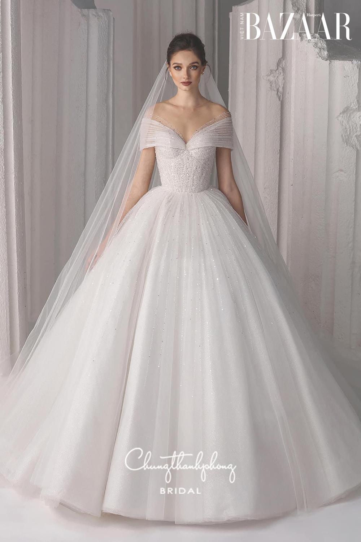 váy cưới Cinderella của Chung Thanh Phong