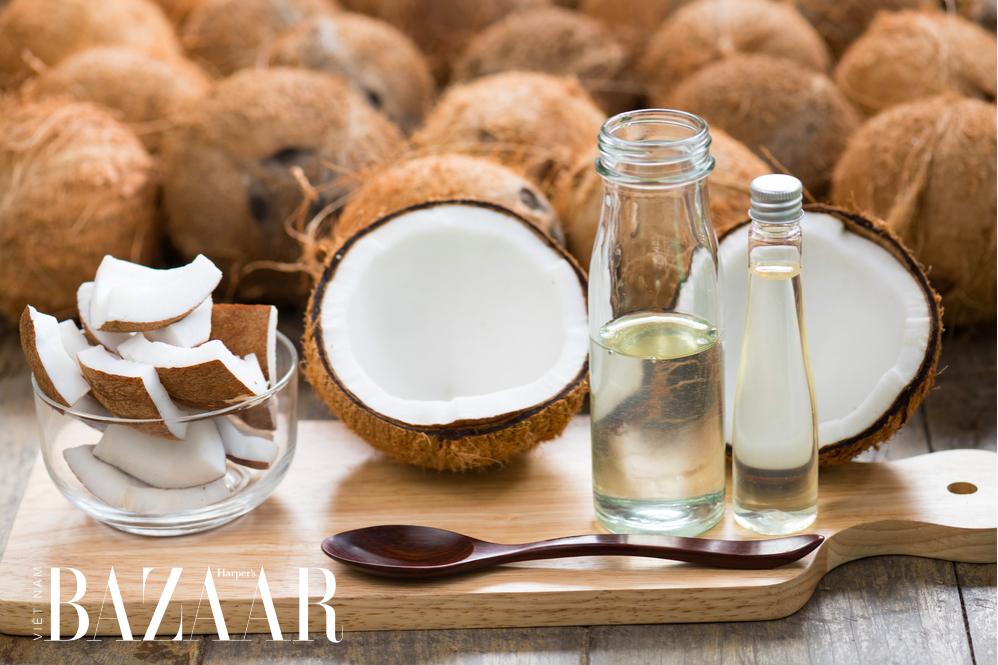 cách trị nám và tàn nhang bằng dầu dừa