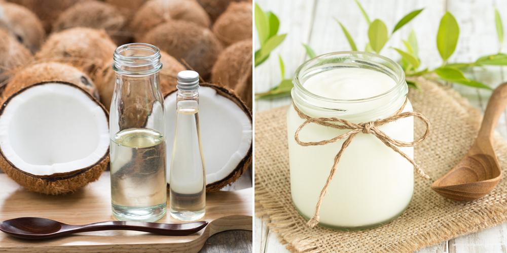 Cách trị tàn nhang bằng dầu dừa và sữa chua