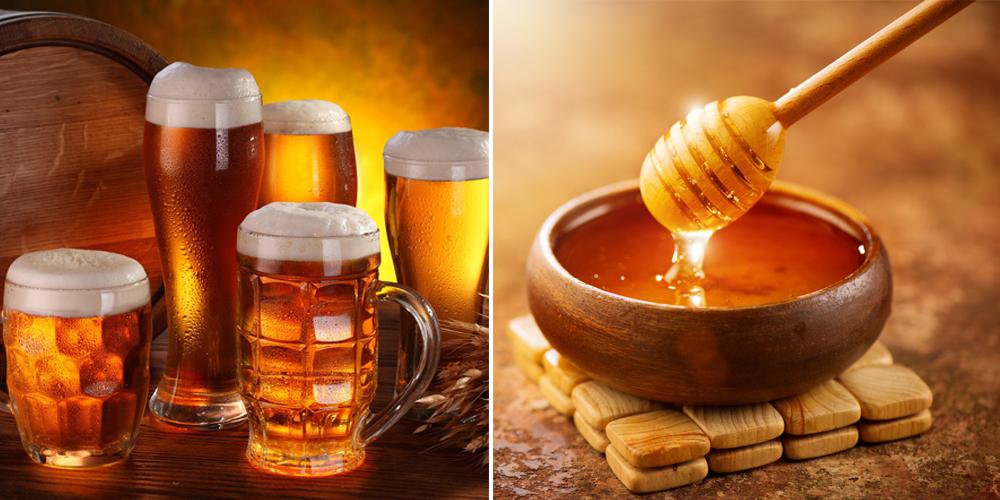 Cách làm đẹp da bằng bia và mật ong giúp trị mụn