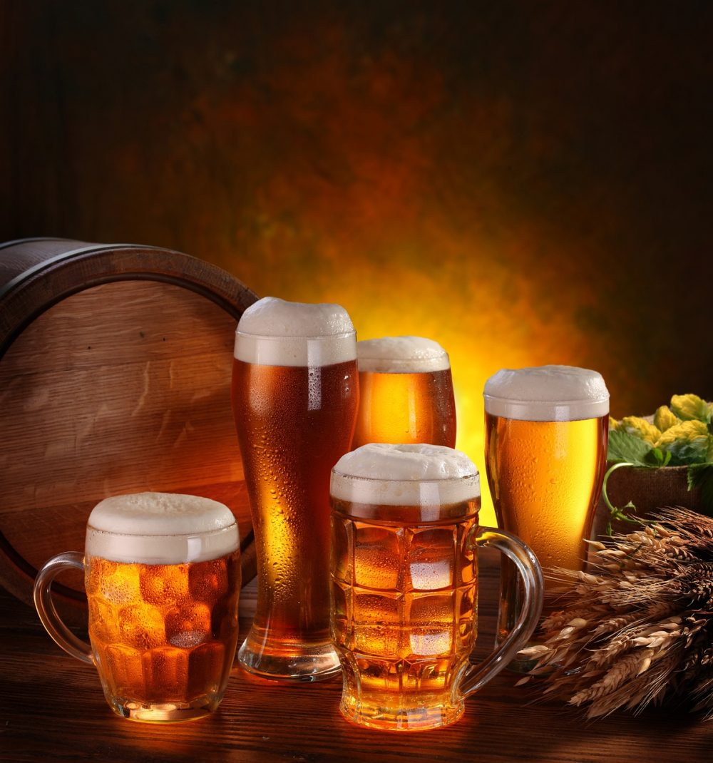 công dụng làm đẹp của bia