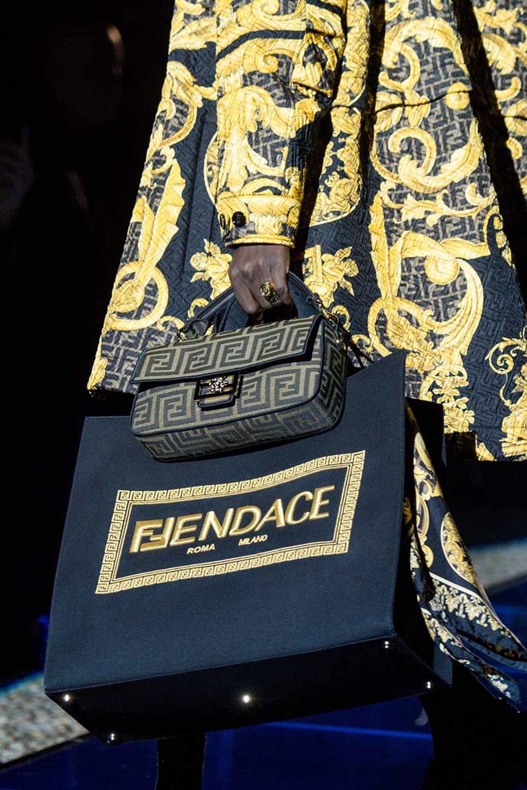 FENDACE: Khi Versace và Fendi bắt tay 5