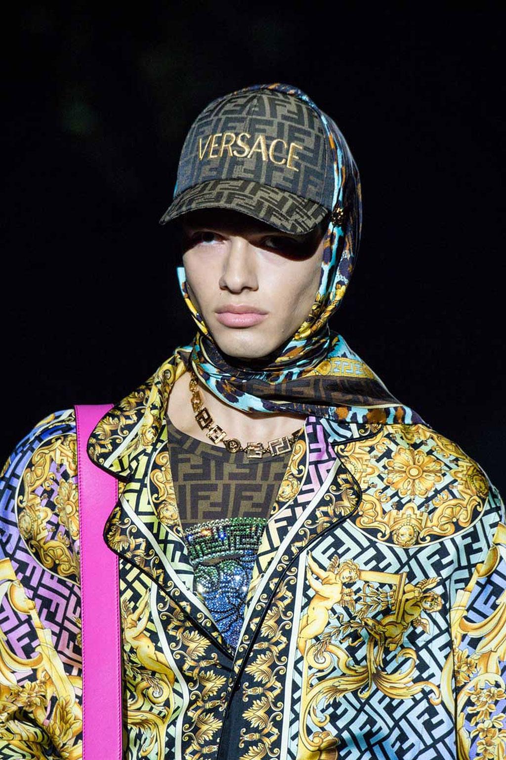 FENDACE: Khi Versace và Fendi bắt tay 4