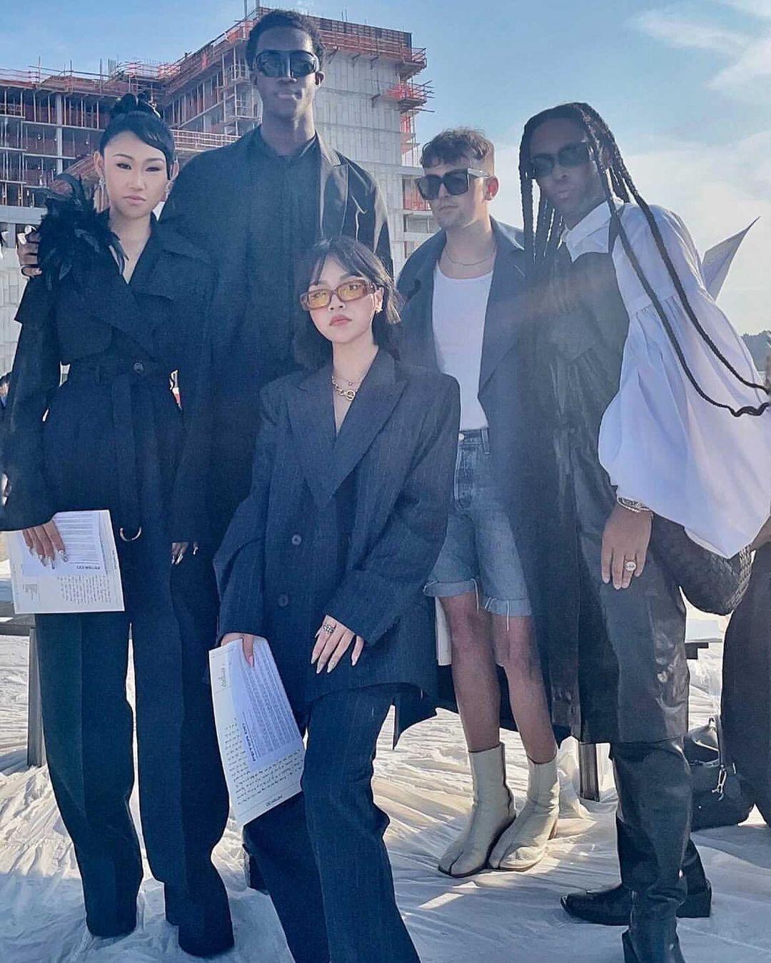 Jaimie Xie, con gái triệu phú đến New York ủng hộ nhà thiết kế người Việt Peter Do