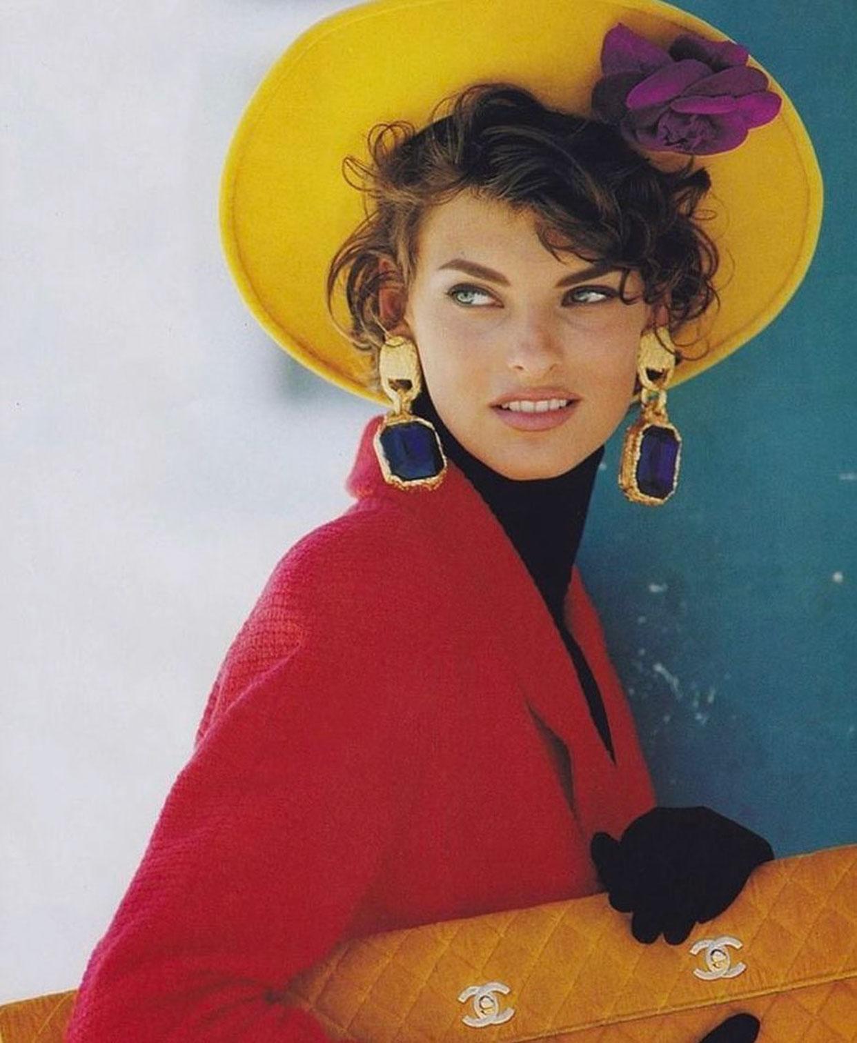 Vì sao siêu mẫu Linda Evangelista biến mất khỏi làng thời trang? 3