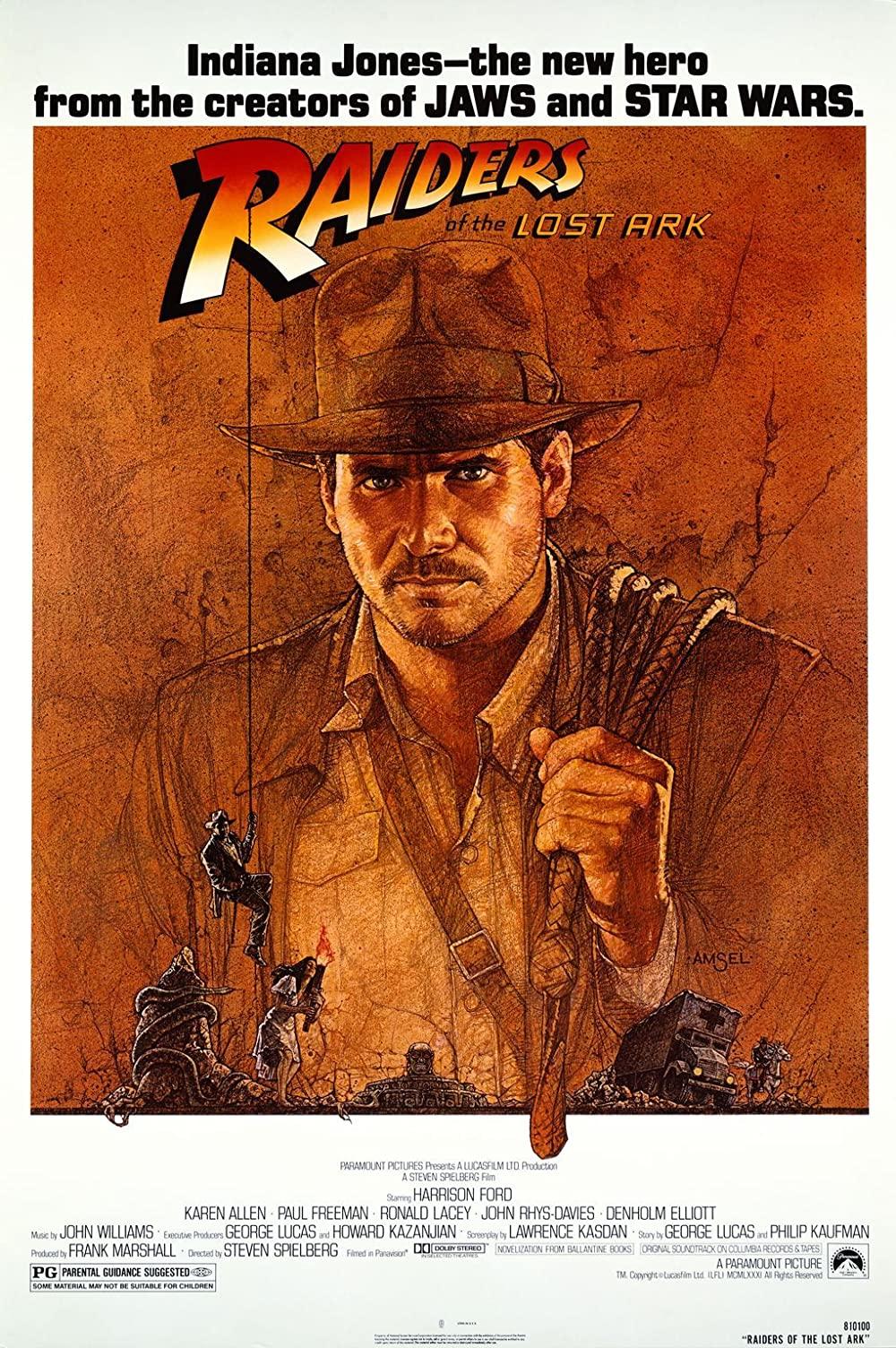 Chiếc rương thánh tích - Raiders of the lost ark (1981)
