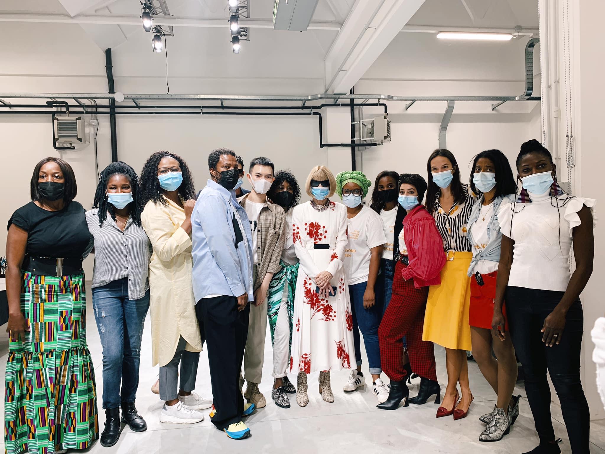 NTK trẻ người Việt Phan Đăng Hoàng được Anna Wintour khen ngợi tại tuần lễ thời trang Milan