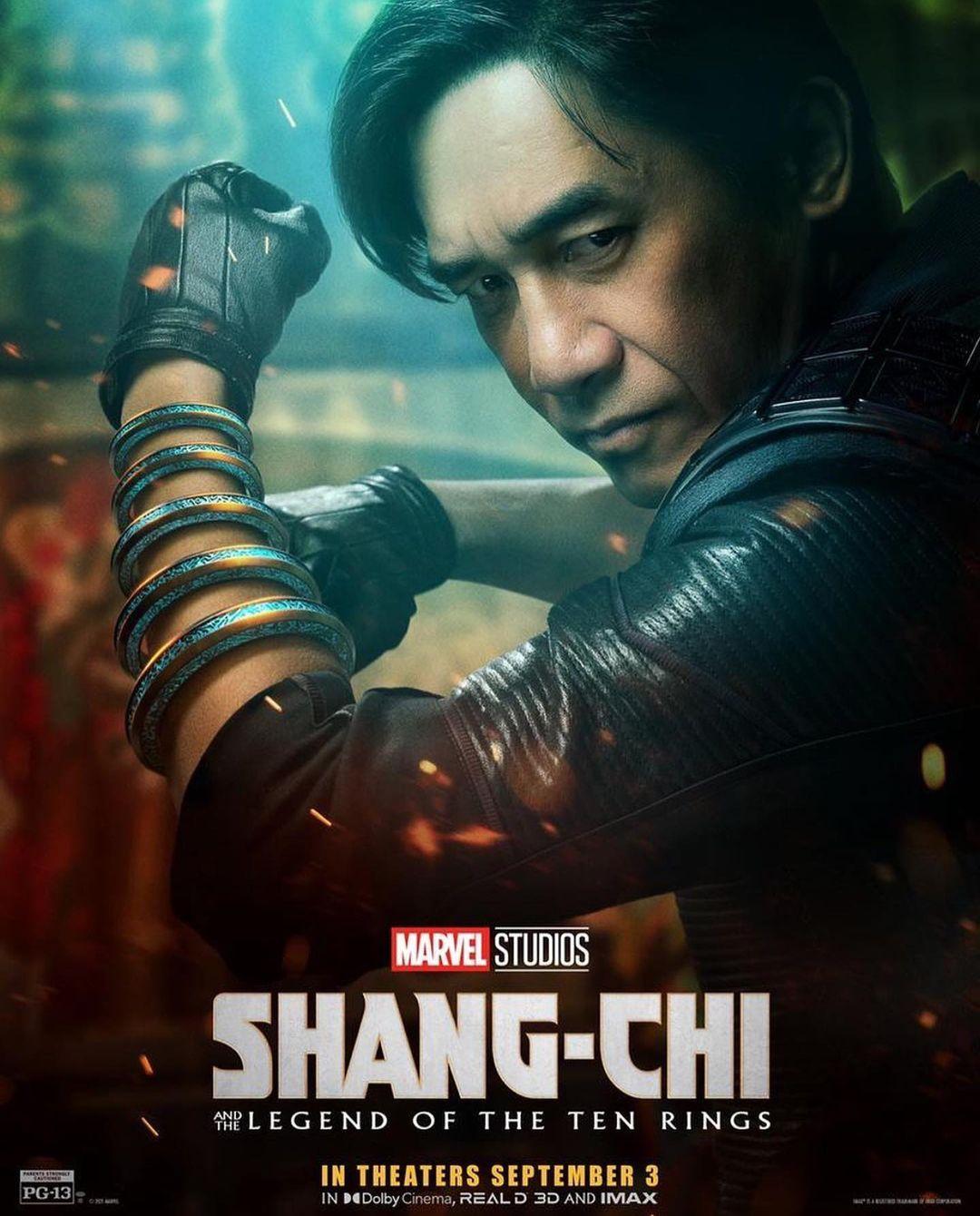 lương triều vỹ phim Shang-Chi và huyền thoại Thập Luân (2021)