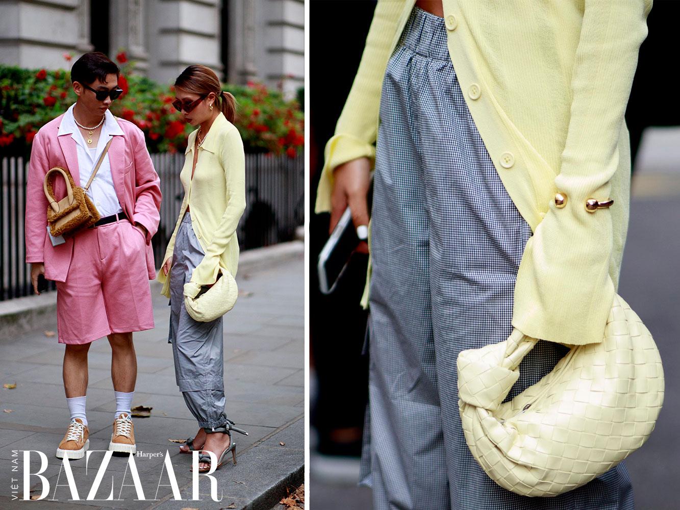 Street style tuần lễ thời trang London Xuân Hè 2022 1