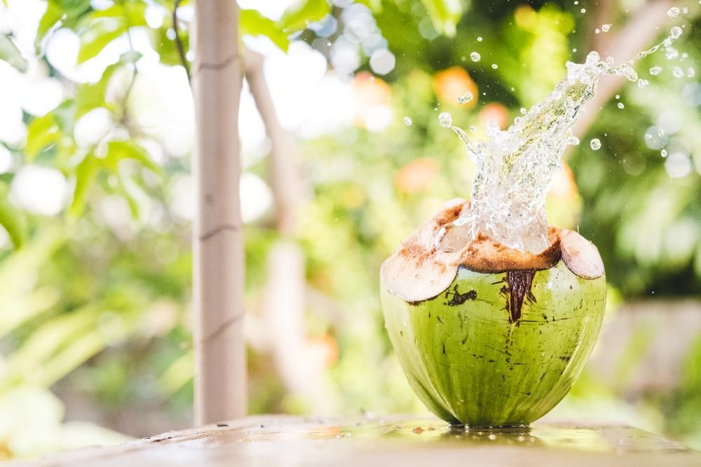 nước dừa tươi có tác hại gì