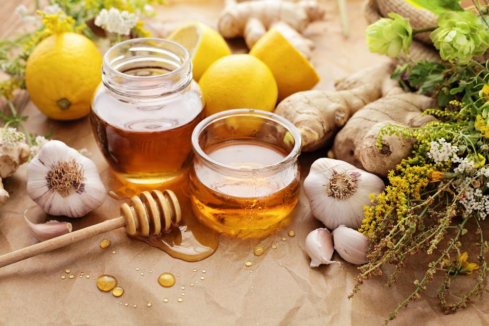 Mật ong và nước chanh
