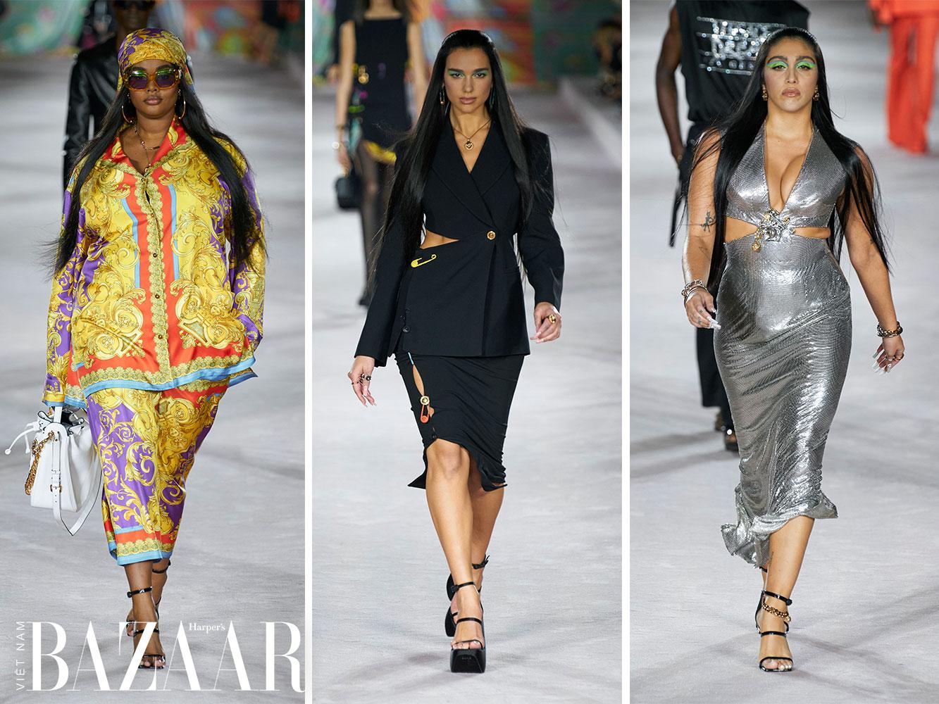 Versace Xuân Hè 2022 tái giới thiệu bản sắc Versace đến Gen Z 1