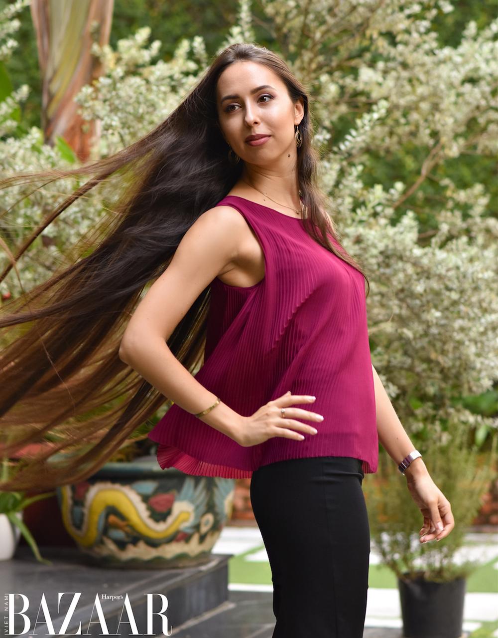 Daria Spitsyna: Miss Office 2021 là thử thách để tôi bước ra khỏi vùng an toàn