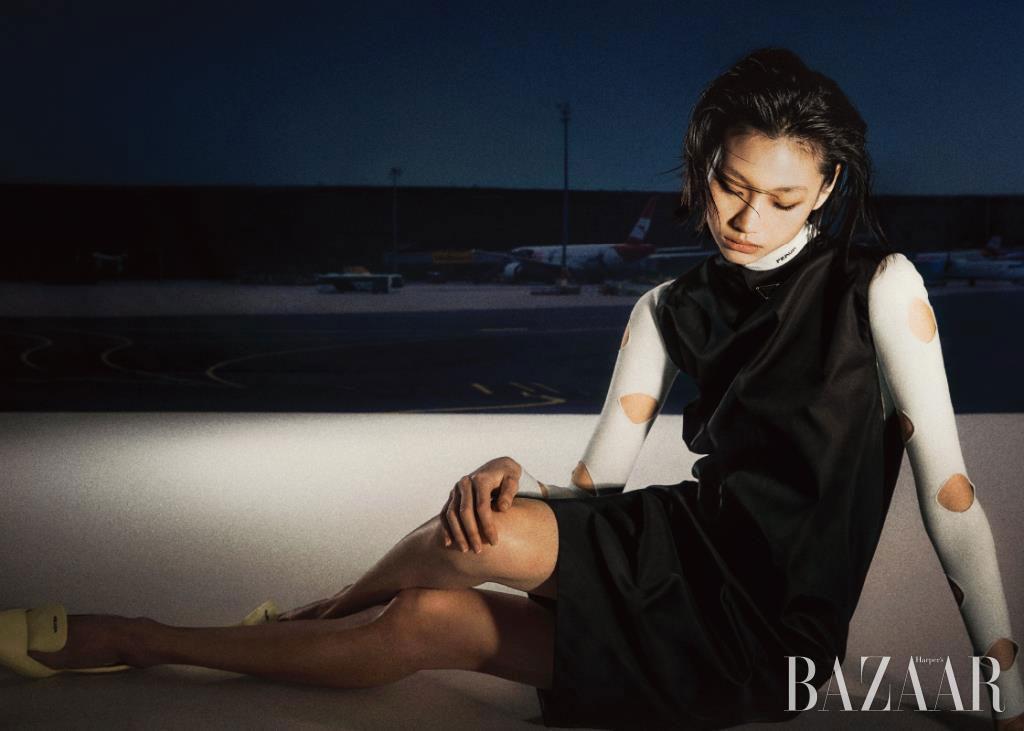 chụp ảnh cho Bazaar Hàn Quốc