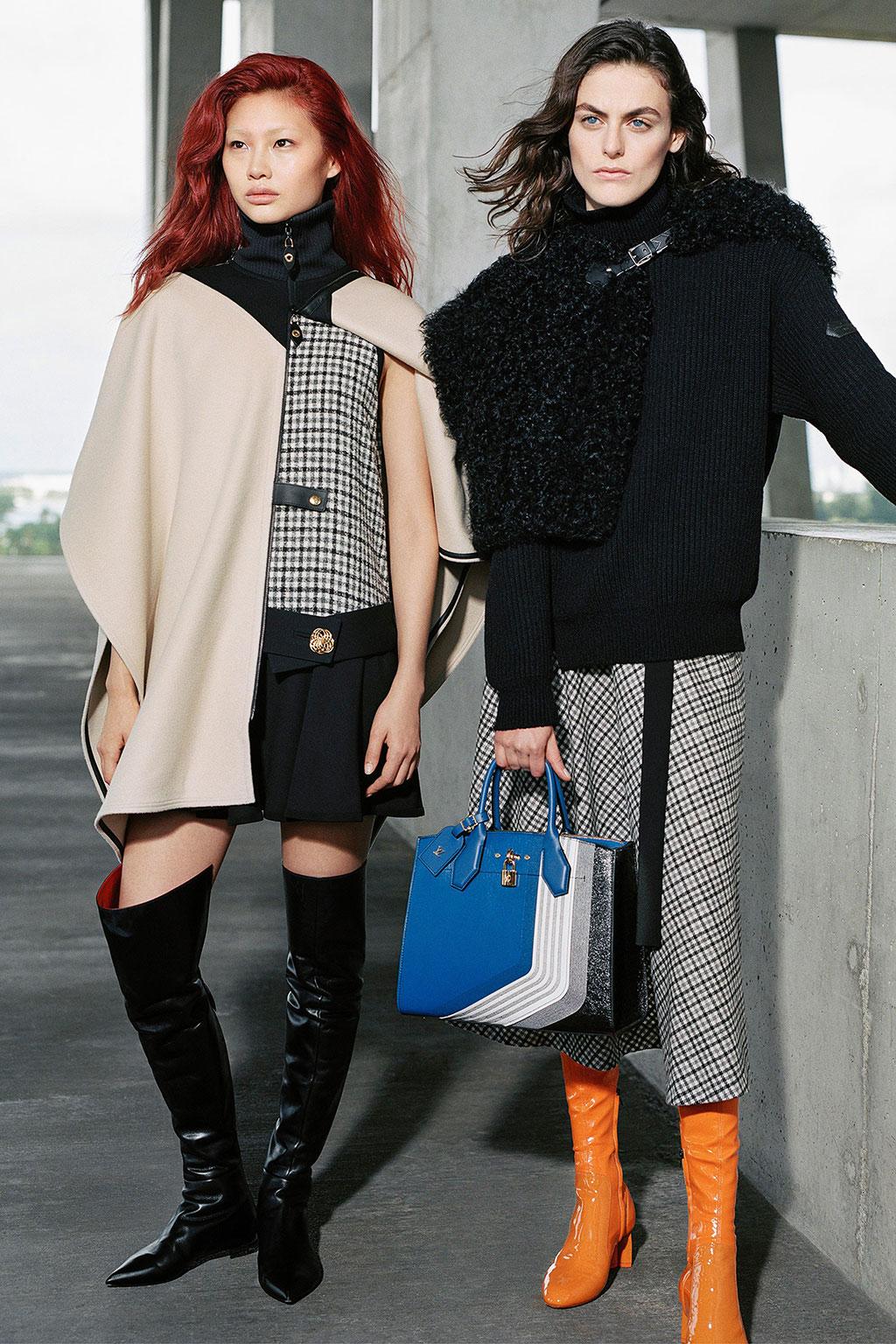 Jung Ho Yeon trong chiến dịch Louis Vuitton Pre-Fall 2017