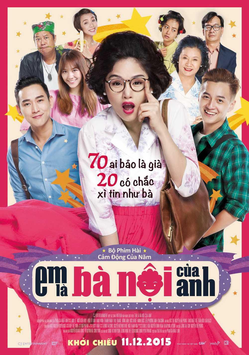 Những bộ phim hài hay nhất Việt Nam: Em là bà nội của anh