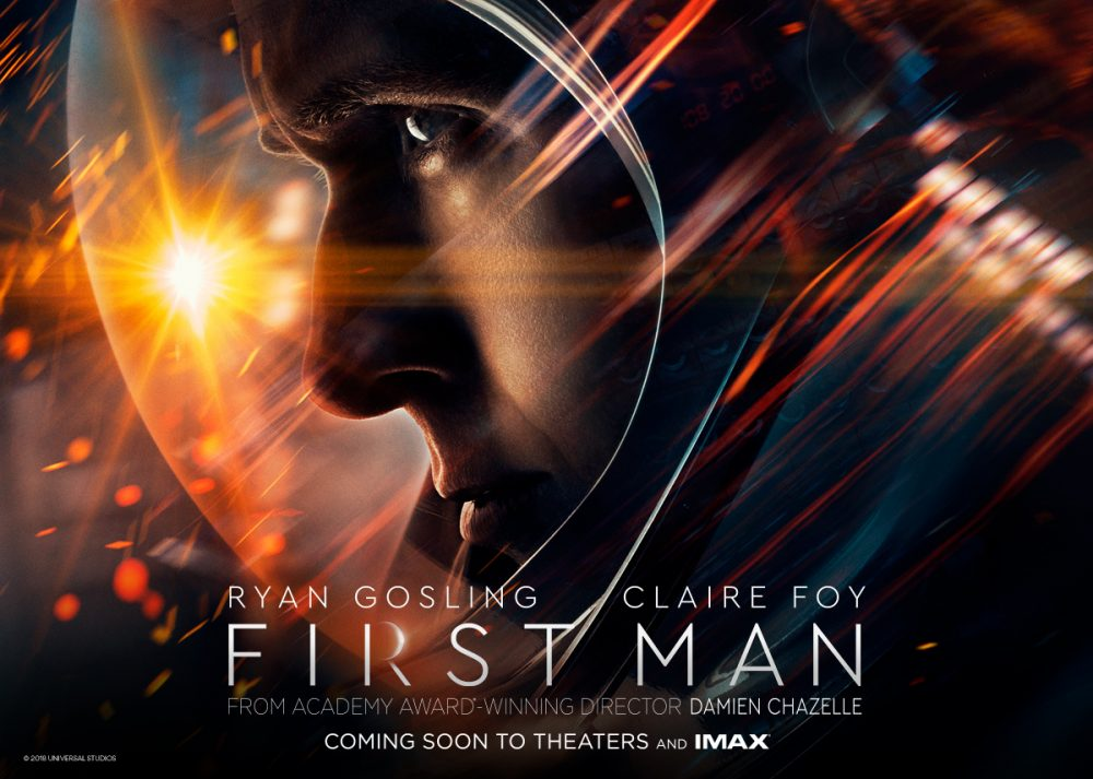 Những bộ phim về vũ trụ hay nhất: Bước chân đầu tiên
